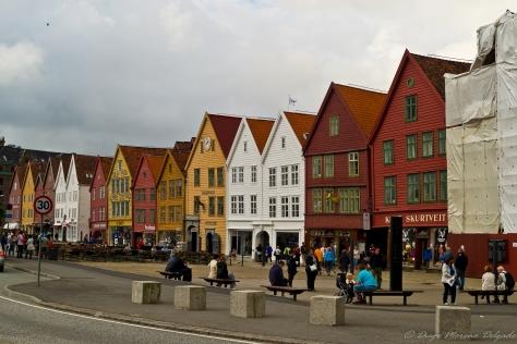 Barrio del Bryggen.