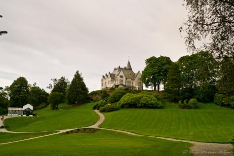 Jardines del Gamlehaugen.