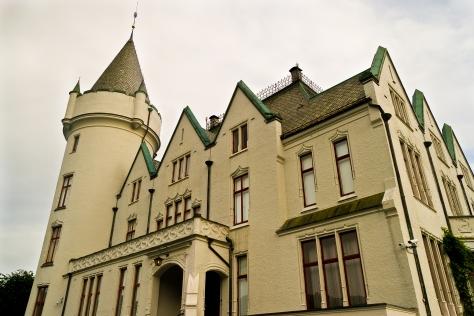 El Gamlehaugen, residencia de la Familia Real Noruega.