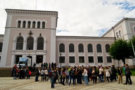 Visitas organizadas por la ciudad.