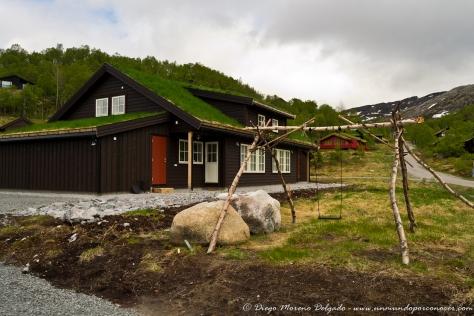 Casa en un pueblecito de la zona de Stavanger.