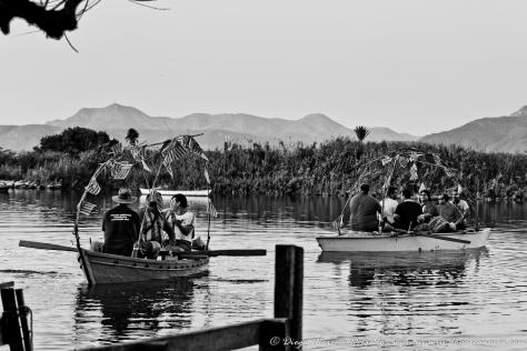 Un concurso tradicional de pesca y música en Cullera.