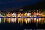 Bryggen de noche
