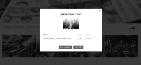 Proceso de compra de una foto