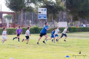 Jugadores del Forval Rugby Club de Cullera
