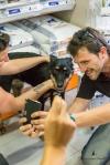 Selfie con el periodista de Tele5