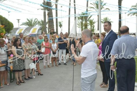 """""""Javier Cantos en la inauguración del Feria de la Cerveza."""""""