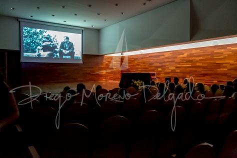 """""""Proyección durante la III edición - Diego Moreno Delgado"""""""