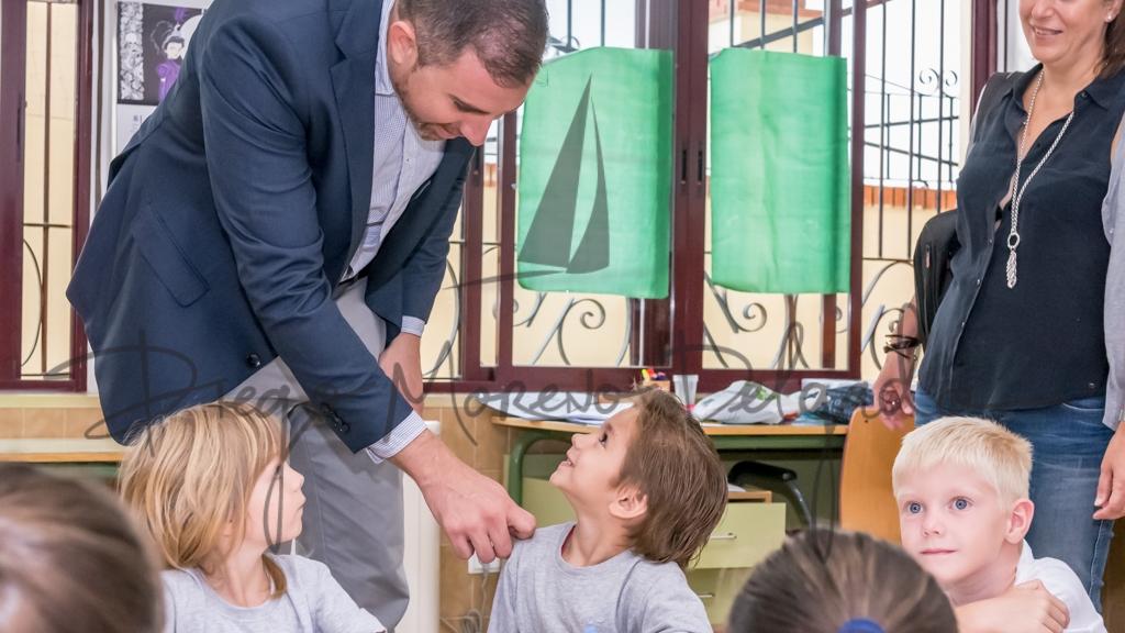 """""""Inauguración del curso en el colegio San Agustín del Raval - Diego Moreno"""""""