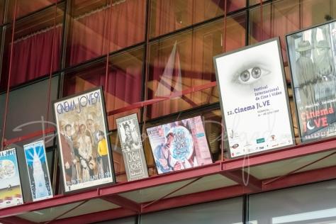 """""""Exposición de carteles de Cínema Jove - Diego Moreno"""""""