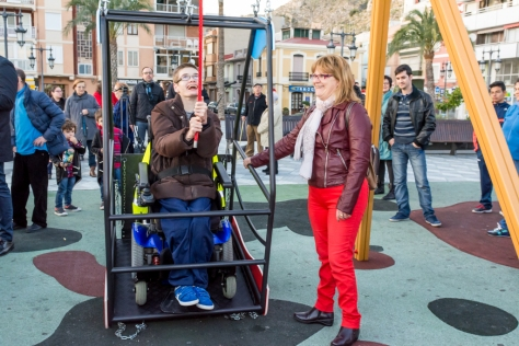 """Inauguración juego discapacitados - Diego Moreno Delgado"""