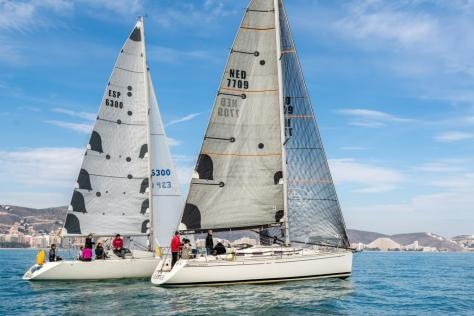 15 embarcaciones se dieron cita en la décima edición de la Regata Castell de Cullera.